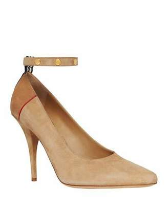 Burberry Abicy Suede Pumps