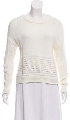 A.L.C. Long Sleeve Rib Knit Sweater