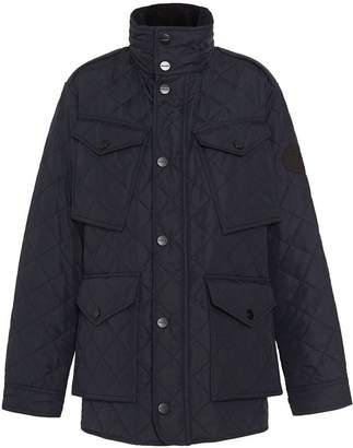 Burberry Diamond Quilted Thermoregulated Field Jacket