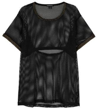 Koral Activewear Vent-A-Lation Black Mesh T
