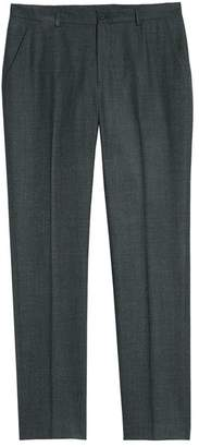 1901 Flat Front M?lange Wool Extra Trim Fit Trousers