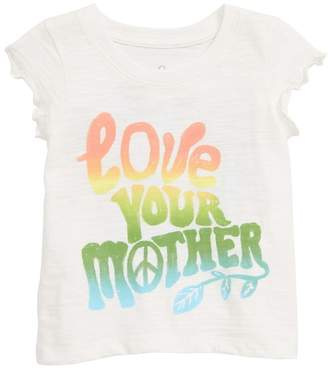 Peek Aren't You Curious Love Your Mother Graphic T-Shirt (Baby)