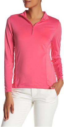 Peter Millar Long Sleeve Sun Comfort Zip Neck Jacket $79.50 thestylecure.com