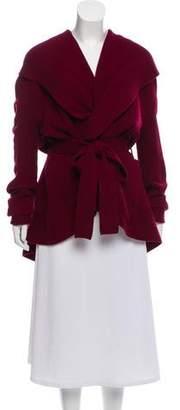 Alexander McQueen Wool & Cashmere-Blend Cardigan