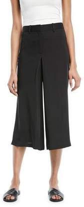 Theory Modern Silk Georgette Skirt Trouser