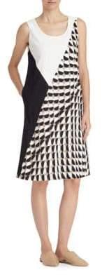 Lafayette 148 New York Diega Colorblock Shift Dress