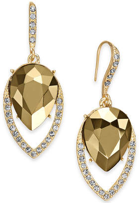 INC International Concepts I.n.c. Crystal Halo Drop Earrings
