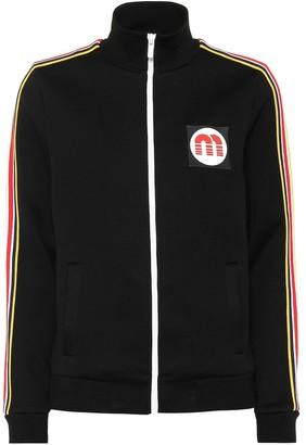Miu Miu Cotton-blend track jacket