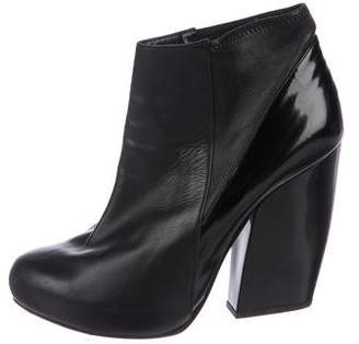 Pierre Hardy Round-Toe Platform Ankle Boots