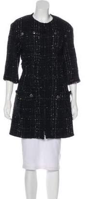 Chanel Bouclé Short Coat