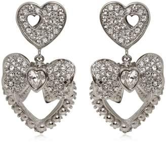 Dolce & Gabbana Heart & Bow Clip-On Earrings