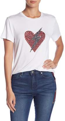 Romeo & Juliet Couture Embroidered Short Sleeve Top