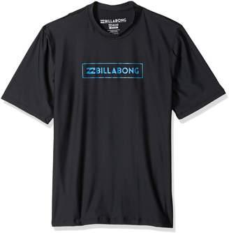 Billabong Mens All Day Unity Short Sleeve Wetshirt MWLYJTUS