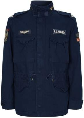 Polo Ralph Lauren Cotton Patch Detail Jacket