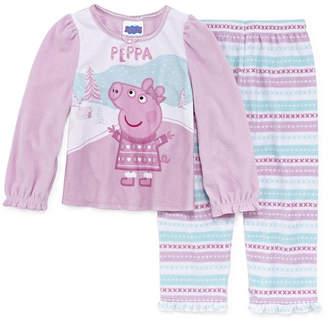 Peppa Pig 2-pc. Pant Pajama Set Girls