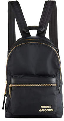 Marc Jacobs Medium Canvas Backpack with Metal Logo