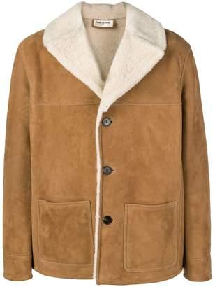 Saint Laurent Trapper shearling jacket