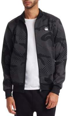 G Star Rodis Camo Zip Up Sweatshirt