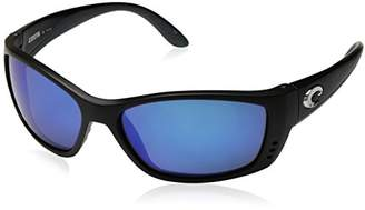 Costa del Mar Unisex-Adult Fisch FS 11 OBMGLP Polarized Iridium Oval Sunglasses