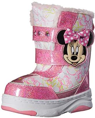 Josmo Character Shoes Disney Minnie C/W Boot (Toddler/Little Kid)
