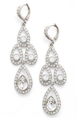 Women's Givenchy Crystal Chandelier Drop Earrings $88 thestylecure.com