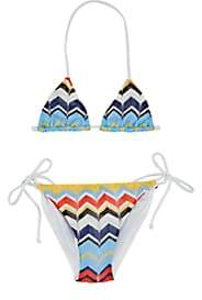Missoni Kids' Zigzag Bikini - Blue