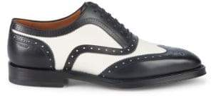 Bally Schubert Wingtip Leather Oxfords
