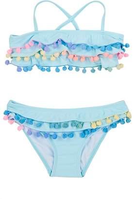 Pilyq Pily Q Kids' Pom-Pom-Embellished Two-Piece Swimsuit