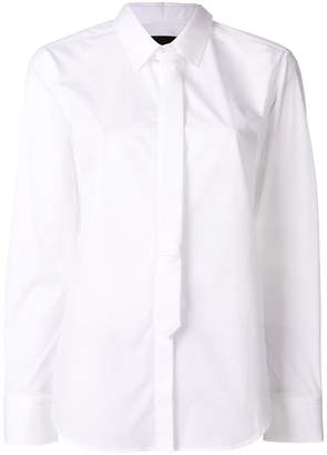 Neil Barrett tie detail shirt