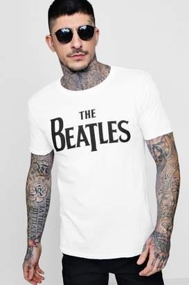 boohoo The Beatles Short Sleeve T-Shirt