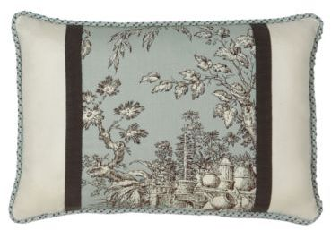 Camille Toile - Toile Decorative Pillow
