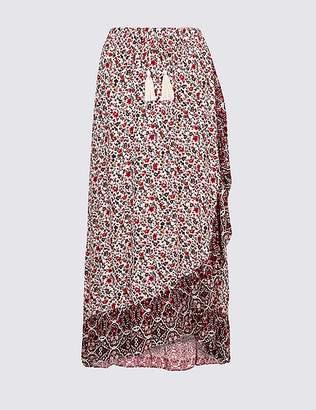 Marks and Spencer Floral Print Full Maxi Skirt