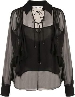 Diane von Furstenberg Everleigh collared blouse