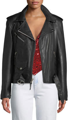 Lee Laurie Leathers Hell On Heels Leather Biker Jacket