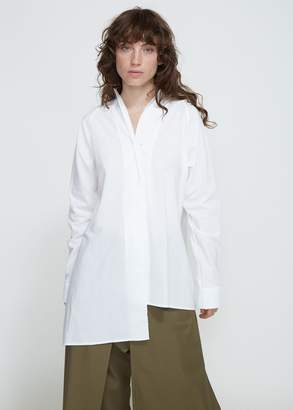 Yohji Yamamoto Y's by Long Sleeve Unbalanced Shirt