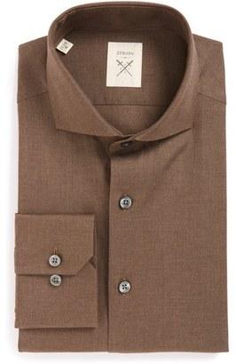 Men's Strong Suit 'Espirit' Trim Fit Solid Dress Shirt $98 thestylecure.com