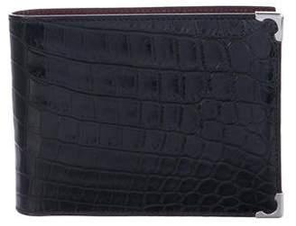 Cartier 2017 Niloticus Crocodile Wallet