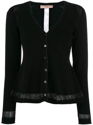 Twin-Set cut-out detail cardigan