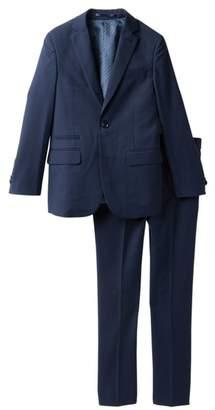 Isaac Mizrahi 2-Piece Solid Textured Suit (Toddler, Little Boys, & Big Boys)