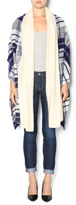 Yarnz Blue Blanket Shawl