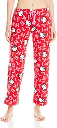 Hello Kitty Women's Warm and Toasty Rolled Pant $9.32 thestylecure.com