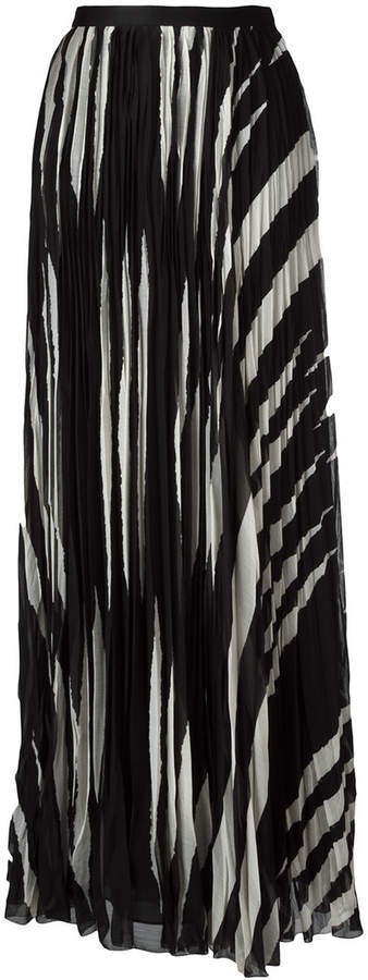 Tory Burch pleated maxi skirt