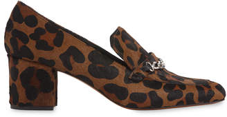 Whistles Alma Chain Leopard Loafer