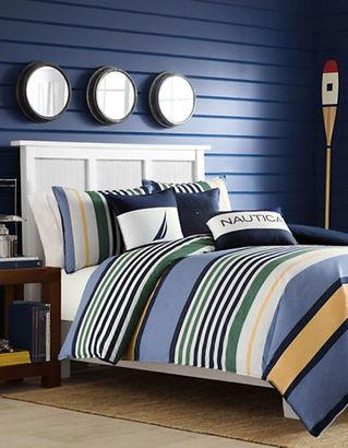 Nautica Dover Duvet and Sham Set $175 thestylecure.com