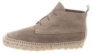 Balenciaga High-Top Espadrille Sneakers