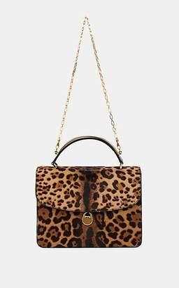 Bienen-Davis Women's Charlie Calf Hair & Patent Leather Shoulder Bag - Brown, Multi