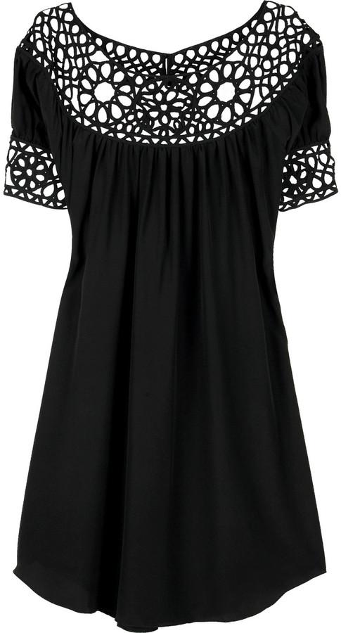 Jovovich-Hawk Cristina smock dress
