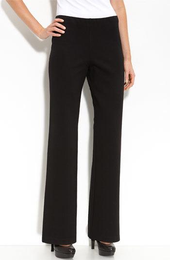 Eileen Fisher Women's Straight Leg Ponte Pants