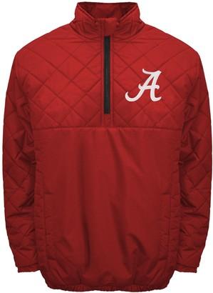 Adult Franchise Club Alabama Crimson Tide Clima Quarter-Zip Jacket