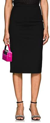 Barneys New York Women's Wool Pencil Skirt - Black